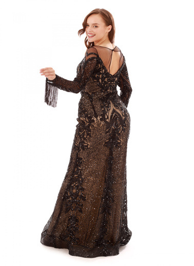 Pierre Cardin Abiye Elbise Siyah